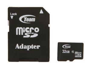 Team 32GB microSDHC Flash Card with Adapter