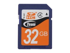 Team 32GB Secure Digital High-Capacity (SDHC) Flash Card Model TG032G0SD24XN