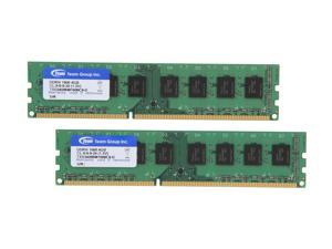 Team 8GB (2 x 4GB) 240-Pin DDR3 SDRAM DDR3 1600 (PC3 12800) Desktop Memory Model TXD38192M1600C9DC-D