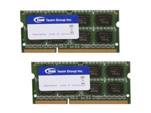 Team 8GB (2 x 4GB) 204-Pin DDR3 SO-DIMM DDR3 1066 Laptop Memory Model TSD38192M1066C7DC-E
