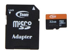 Team 32GB microSDHC UHS-I Flash Card Model TUSDH32GUHS03