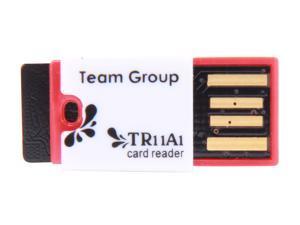 Team 16GB microSDHC Flash Card with USB Card Reader (Red) Model TUSDH16GCL430