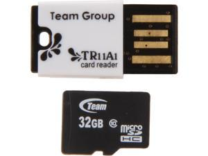 Team 32GB Micro SDHC Flash Card