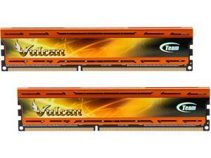 Team Vulcan 8GB (2 x 4GB) 240-Pin DDR3 SDRAM DDR3 2400 (PC3 19200) Desktop Memory Model TLAD38G2400HC11DC01
