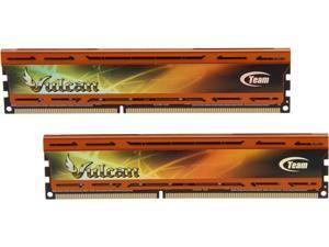 Team Vulcan ORANGE 8GB (2 x 4GB) 240-Pin DDR3 SDRAM DDR3 2133 (PC3 17000) Desktop Memory Model TLAD38G2133HC11ADC01