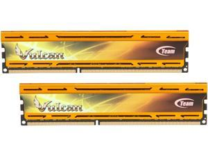 Team Vulcan GOLD 16GB (2 x 8GB) 240-Pin DDR3 SDRAM DDR3 2133 (PC3 17000) Desktop Memory Model TLYD316G2133HC11ADC01