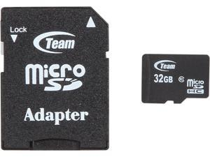 Team 32GB microSDHC Flash Card Model TUSDH32GCL1031