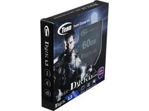 """Team Group DARK L3 2.5"""" 60GB SATA III Internal Solid State Drive (SSD) T253L3060GMC101"""