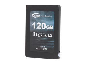 """Team Group DARK L3 T253L3120GMC101 2.5"""" 120GB SATA III Internal Solid State Drive (SSD)"""