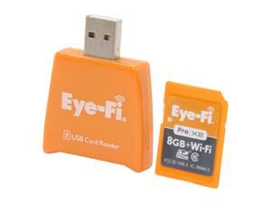 Eye-Fi Pro X2 8GB Wireless Flash Memory Wireless Flash Memory Card