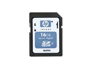 HP 16GB Secure Digital High-Capacity (SDHC) Flash Card Model Q6305A-EF
