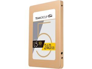 "Team Group L5 LITE 3D 2.5"" 240GB SATA III 3D NAND Internal Solid State Drive (SSD) T253TD240G3C101"