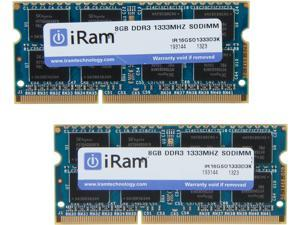 iRam 16GB (2 x 8GB) DDR3 1333 (PC3 10600) Memory for Apple
