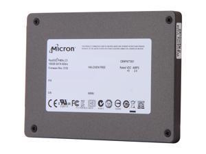 "Micron RealSSD P400e MTFDDAK100MAR-1J1AA 2.5"" 100GB SATA III MLC Enterprise Solid State Drive"