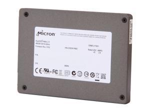 "Micron RealSSD P400e MTFDDAK400MAR-1K1AA 2.5"" 400GB SATA III MLC Enterprise Solid State Drive"