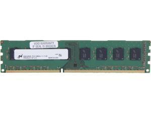Micron 8GB 240-Pin DDR3 SDRAM DDR3 1600 (PC3 12800) Desktop Memory Model MT16JTF1G64AZ-1G6