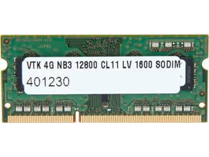 Visiontek 4GB 204-Pin DDR3 SO-DIMM DDR3 1600 (PC3 12800) Memory for Apple Model 900699