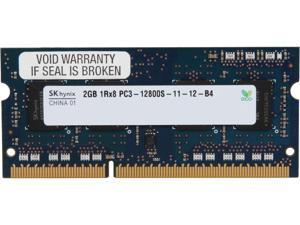 Hynix 2GB 204-Pin DDR3 SO-DIMM DDR3 1600 (PC3 12800) Laptop Memory Model HMT325S6EFR8C-PB