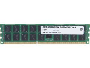 AMD Radeon 16GB 240-Pin DDR3 SDRAM ECC Registered DDR3 1333 (PC3 10600) Server Memory Model AS316G1339R24LU