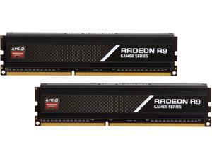 AMD Radeon R9 Gamer Series 8GB (2 x 4GB) 240-Pin DDR3 SDRAM DDR3 2133 (PC3 17000) Desktop Memory Model R938G2130U1K