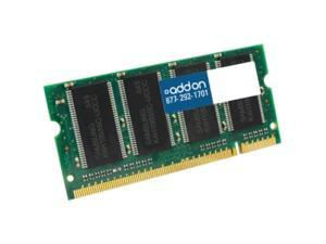 AddOn - Memory Upgrades 8GB DDR3-1333MHz/PC3-10600 204-pin SODIMM F/LAPTOP