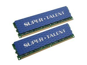 SUPER TALENT 4GB (2 x 2GB) 240-Pin DDR2 SDRAM DDR2 800 (PC2 6400) Dual Channel Kit Desktop Memory Model T800UX4GC5
