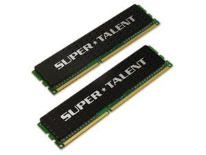 SUPER TALENT 2GB (2 x 1GB)  240-Pin DDR3 1600 (PC3 12800)  Desktop Memory