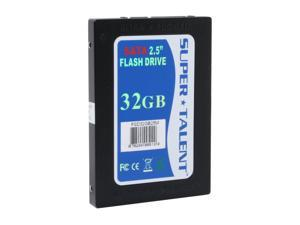 "SUPER TALENT FSD32GB25M 2.5"" 32GB SATA Internal Solid State Drive (SSD)"