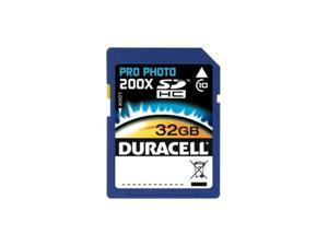 Duracell 32GB Secure Digital High-Capacity (SDHC) Flash Card Model DU-SD1032G-C