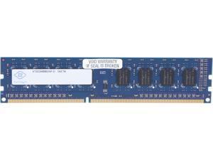 Nanya 2GB 240-Pin DDR3 SDRAM DDR3 1600 (PC3 12800) Desktop Memory Model NT2GC64B88G0NF-D1