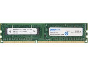 SPECTEK by Micron Technology 8GB 240-Pin DDR3 SDRAM DDR3 1600 (PC3 12800) Desktop Memory Model ST8G3D160B