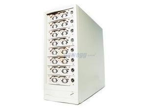 Cavalry 8TB eSATA 8-bay RAID Disk Array PC/Mac compatible