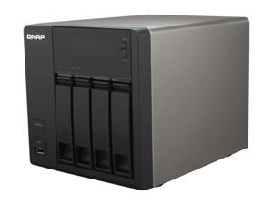 QNAP TS-419PII-US All-in-one NAS for Home & SOHO Cloud-ready with Superior Performance