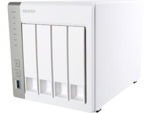 QNAP TS-431P 4-bay Personal Cloud NAS with DLNA, Mobile Apps and AirPlay Support. ARM Cortex A15 1.7 GHz Dual Core, Chromecast Support