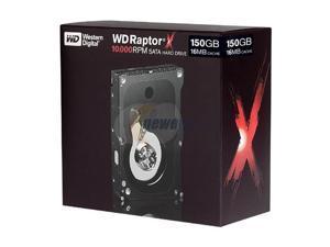 """WD Raptor X WD1500AHFDRTL 150GB 16MB Cache SATA 1.5Gb/s 3.5"""" Hard Drive"""