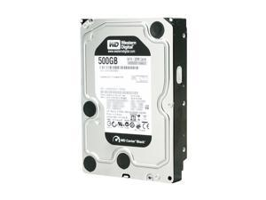 "Western Digital Black WD5001AALS 500GB 7200 RPM 32MB Cache SATA 3.0Gb/s 3.5"" Internal Hard Drive Bare Drive"