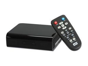 WD USB 2.0 HDMI Composite A/V TV HD Media Player Black
