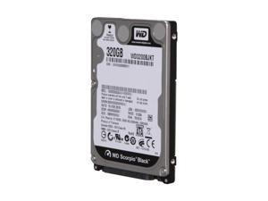 "Western Digital Scorpio Black WD3200BJKT-00F4T0 320GB 7200 RPM 16MB Cache SATA 3.0Gb/s 2.5"" Notebook Hard Drive Bare Drive"