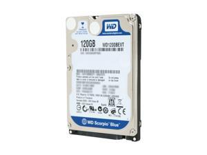 "Western Digital Scorpio Blue WD1200BEVT 120GB 5400 RPM 8MB Cache SATA 3.0Gb/s 2.5"" Notebook Hard Drive"