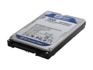 """Western Digital Scorpio Blue WD7500KEVT 750GB 5200 RPM 8MB Cache SATA 3.0Gb/s 2.5"""" Internal Notebook Hard Drive"""