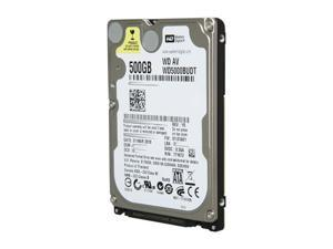 "Western Digital WD AV-25 WD5000BUDT 500GB 5400 RPM 32MB Cache SATA 3.0Gb/s 2.5"" Internal AV Hard Drive"