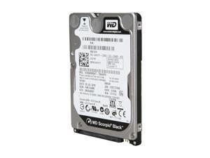 "Western Digital Scorpio Black WD5000BEKT 500GB 7200 RPM 16MB Cache SATA 3.0Gb/s 2.5"" Internal Notebook Hard Drive Bare Drive"