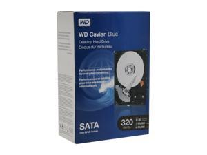 "WD Blue WDBAAX3200ENC-NRSN 320GB 7200 RPM 16MB Cache SATA 3.0Gb/s 3.5"" Internal Hard Drive Retail kit"