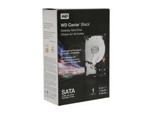"WD Black WDBAAZ0010HNC-NRSN 1TB 7200 RPM 32MB Cache SATA 3.0Gb/s 3.5"" Internal Hard Drive Retail kit"