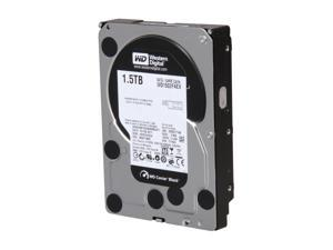 "Western Digital Black WD1502FAEX 1.5TB 7200 RPM 64MB Cache SATA 6.0Gb/s 3.5"" Internal Hard Drive Bare Drive"