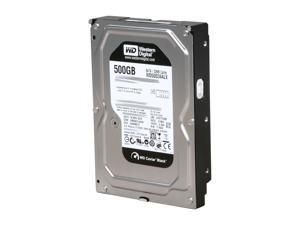 "Western Digital WD Black WD5002AALX 500GB 7200 RPM 32MB Cache SATA 6.0Gb/s 3.5"" Internal Hard Drive"
