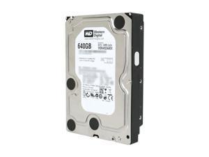 """Western Digital WD Black WD6402AAEX 640GB 7200 RPM 64MB Cache SATA 6.0Gb/s 3.5"""" Internal Hard Drive"""