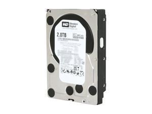 """Western Digital WD Black WD2001FASS 2TB 64MB Cache SATA 3.0Gb/s 3.5"""" Internal Hard Drive Bare Drive"""