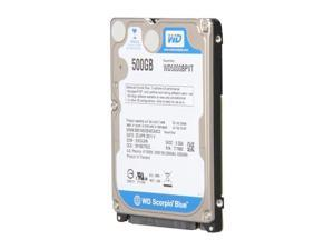 "WD WD5000BPVT/R 500GB 5400 RPM 8MB Cache SATA 3.0Gb/s 2.5"" Internal Notebook Hard Drive"