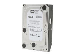 """WD Black WD7502AAEX 750GB 7200 RPM 64MB Cache SATA 6.0Gb/s 3.5"""" Internal Hard Drive Bare Drive"""